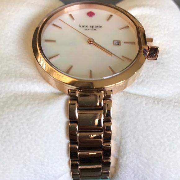 f3d938c52 💗Kate Spade Park Row Rose Gold Tone watch KSW1323.  M_5b5e4c3610fc548bdda60f42